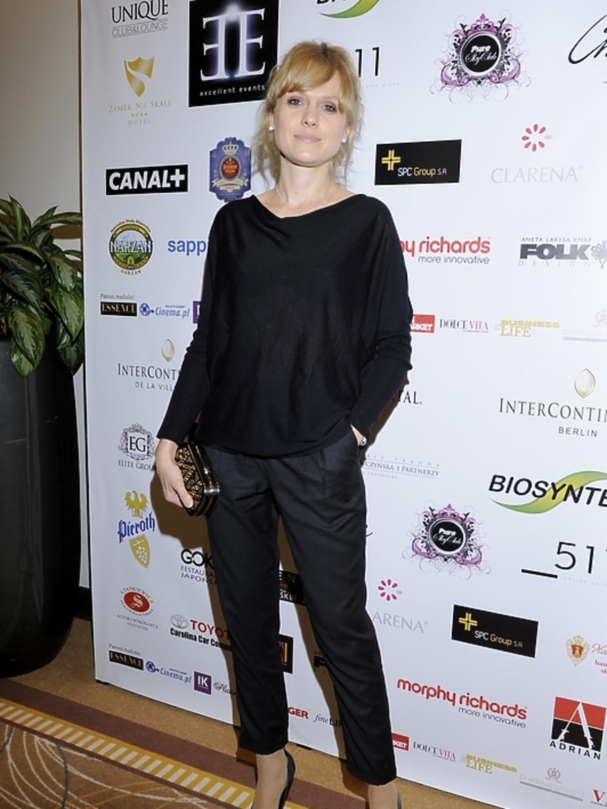 Aleksandra Woźniak na gali Luksusowa Marka Roku 2012