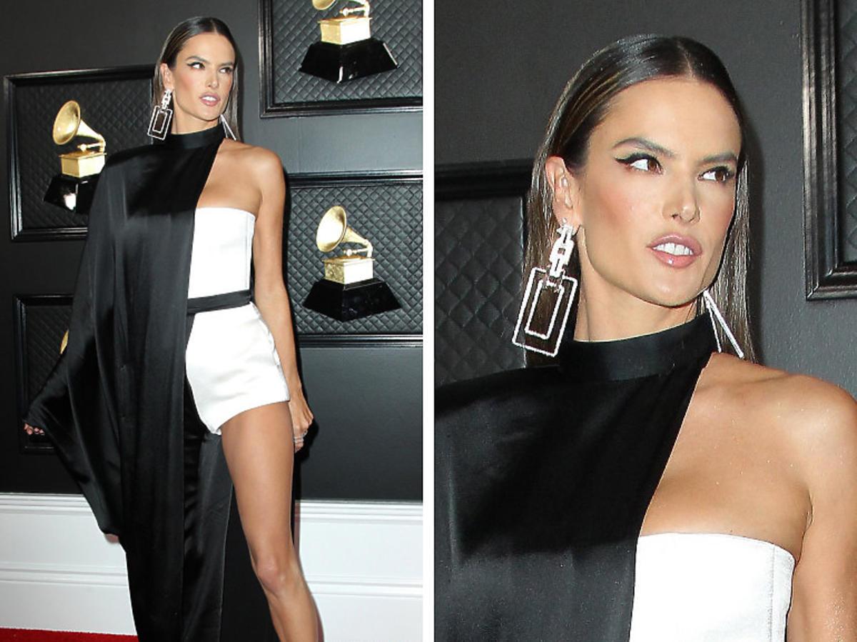 Alessandra Ambrosio na Grammy 2020