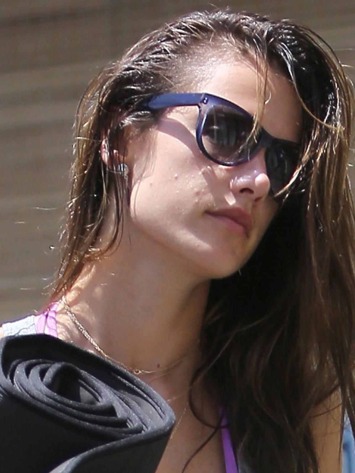 Alessandra Ambrosio wraca z jogi w Brentwood
