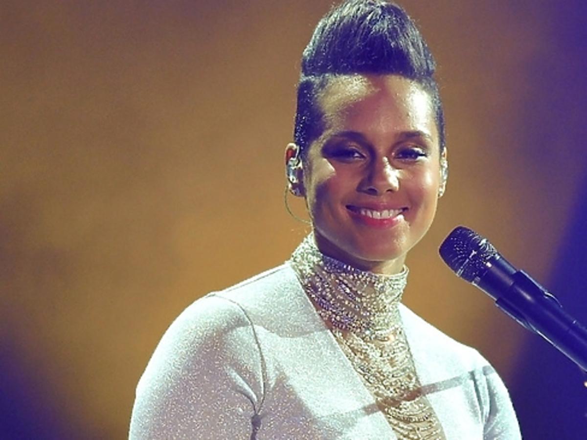 Alicia Keys na gali MTV EMA