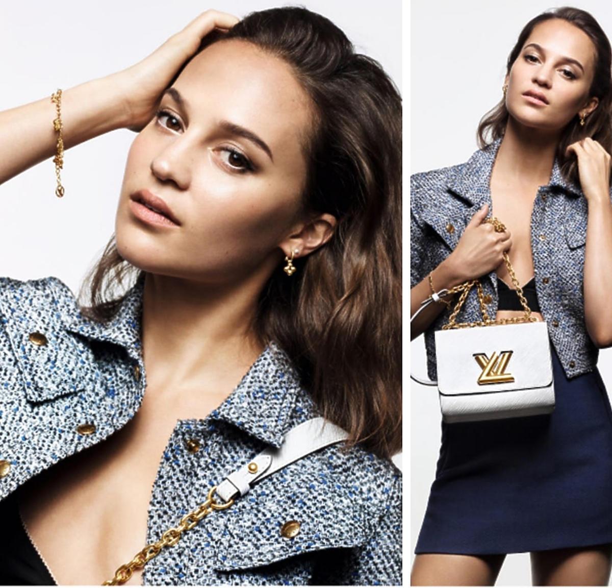 Alicia Vicansder for Louis Vuitton