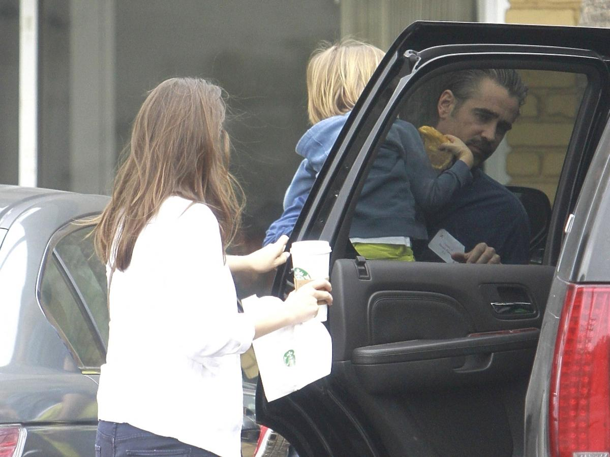 Alicja Bachleda Curuś i Colin Farrell w Los Angeles