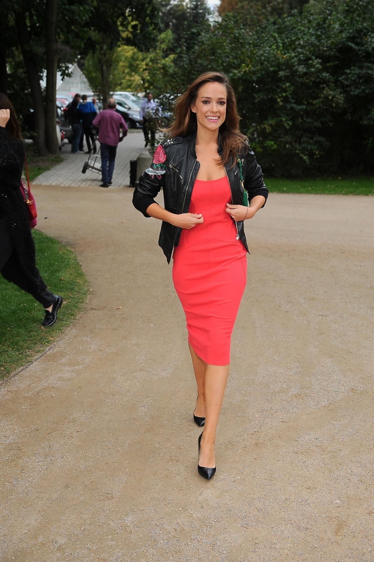 Alicja Bachleda Curuś w czerwonej sukience