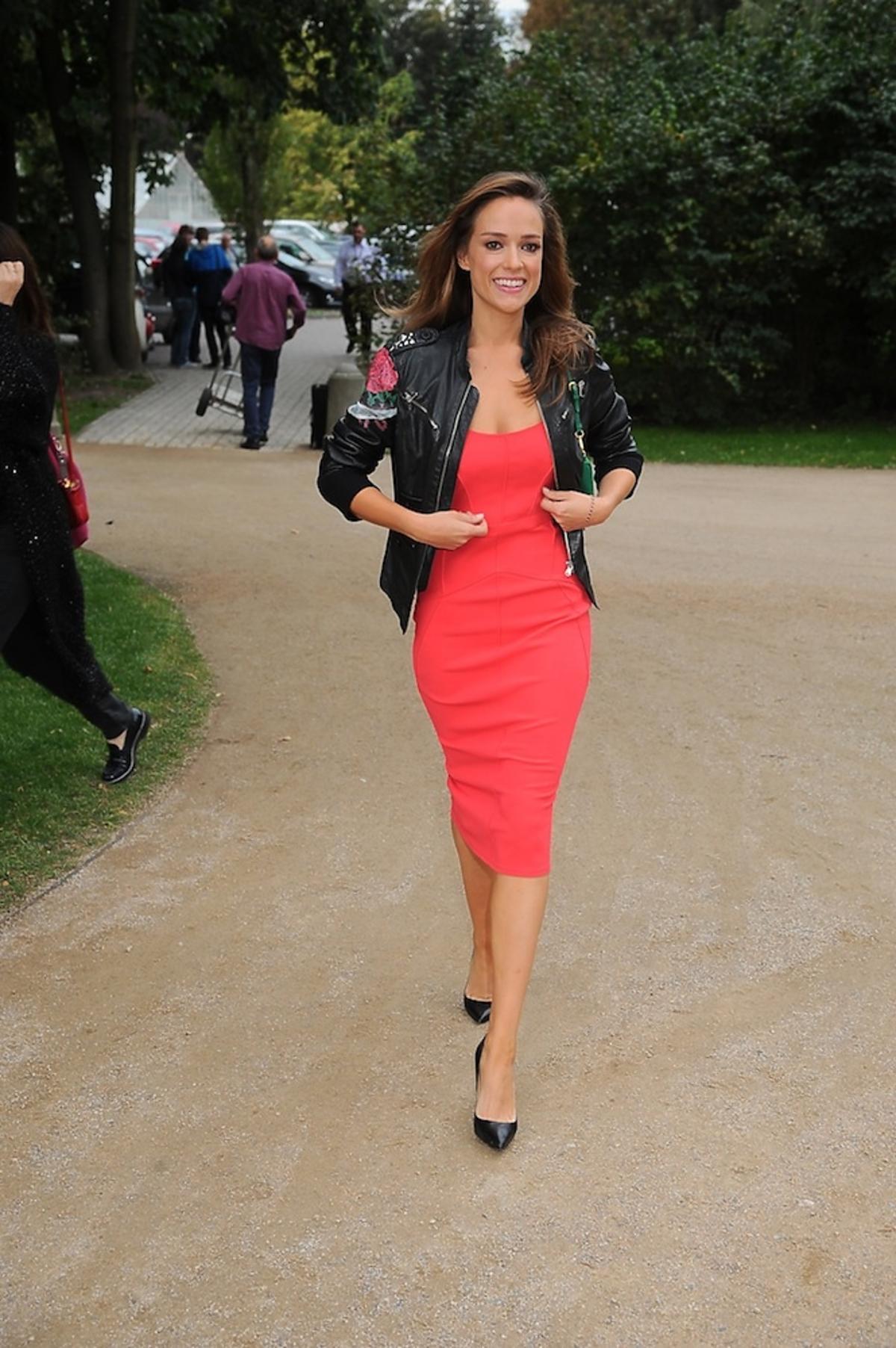 Alicja Bachleda-Curuś w czerwonej sukience