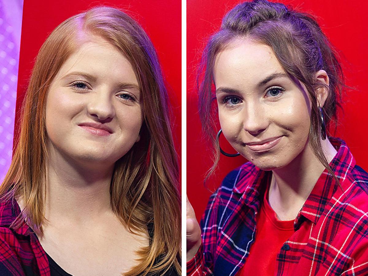 """Alicja Brąszewska i Ola Brzuszkiewicz w """"The Voice Kids 4"""""""