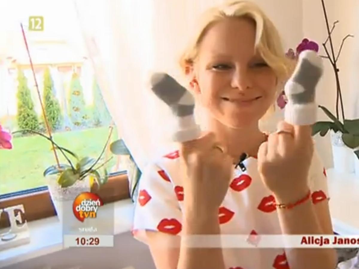 Alicja Janosz pokazała dom w Dzień Dobry TVN