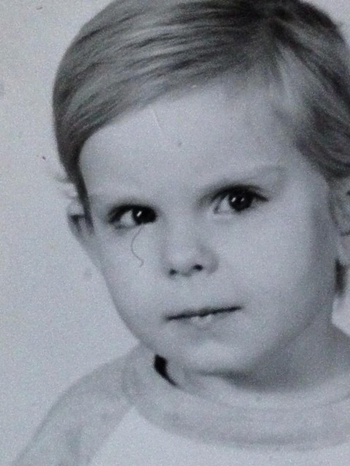 Alicja Janosz w dzieciństwie