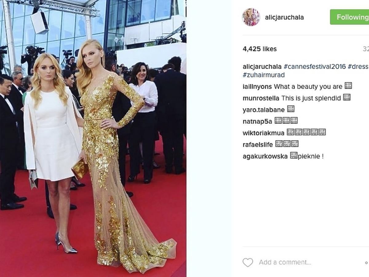 Alicja Ruchała w Cannes
