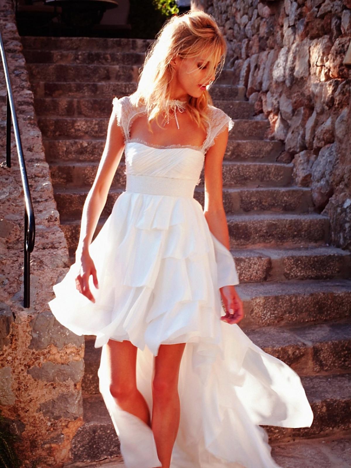 Alja Rubik w sukni ślubnej