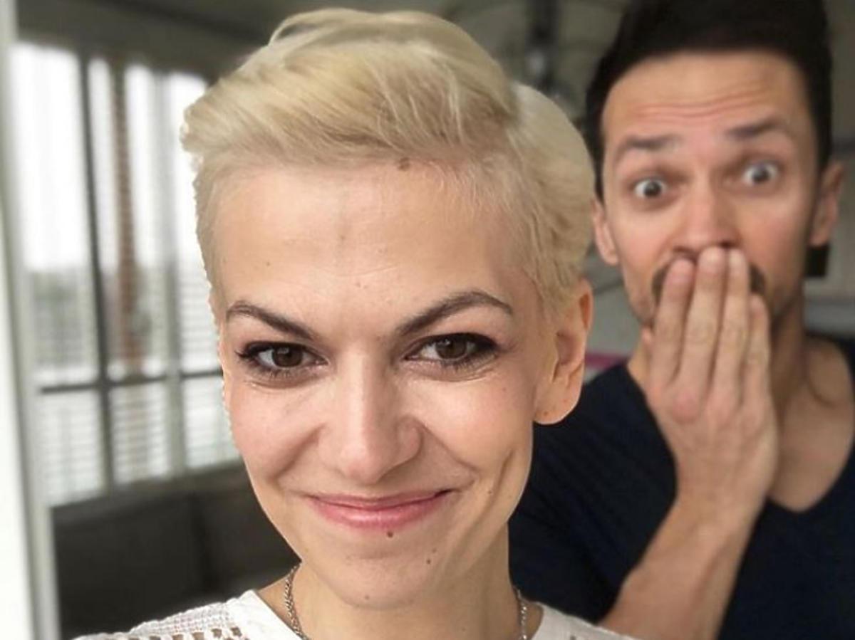 Alżbeta Lenska zmieniła kolor włosów