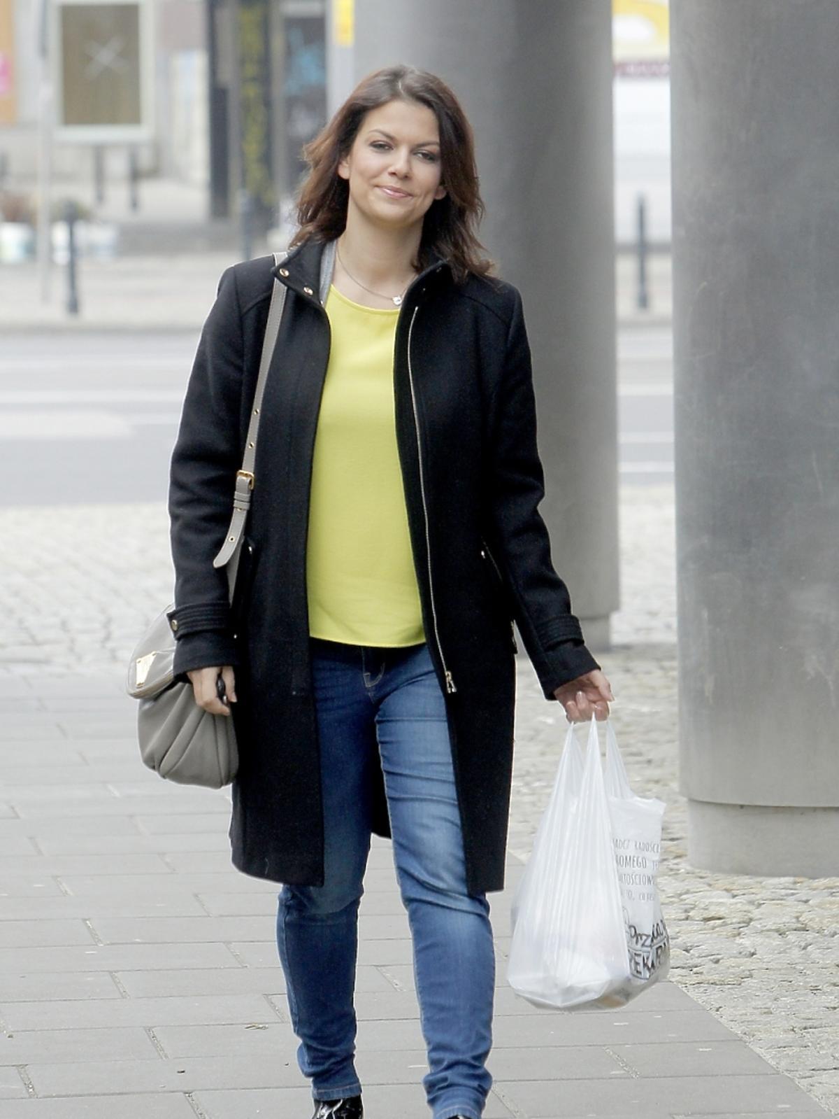 Alżbieta Lenska przed studiem DDTVN