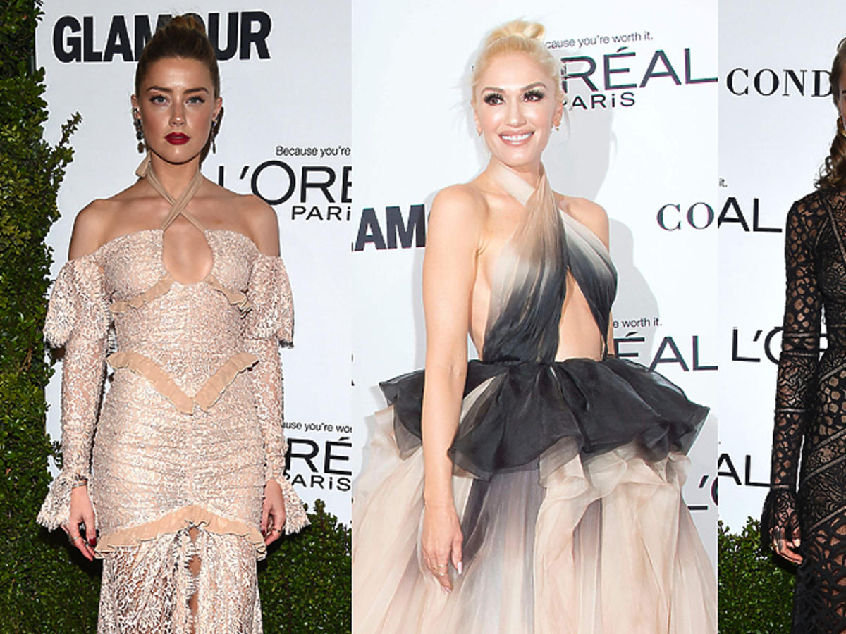 Amber Heard, Gwen Stefani, Cara Delevingne