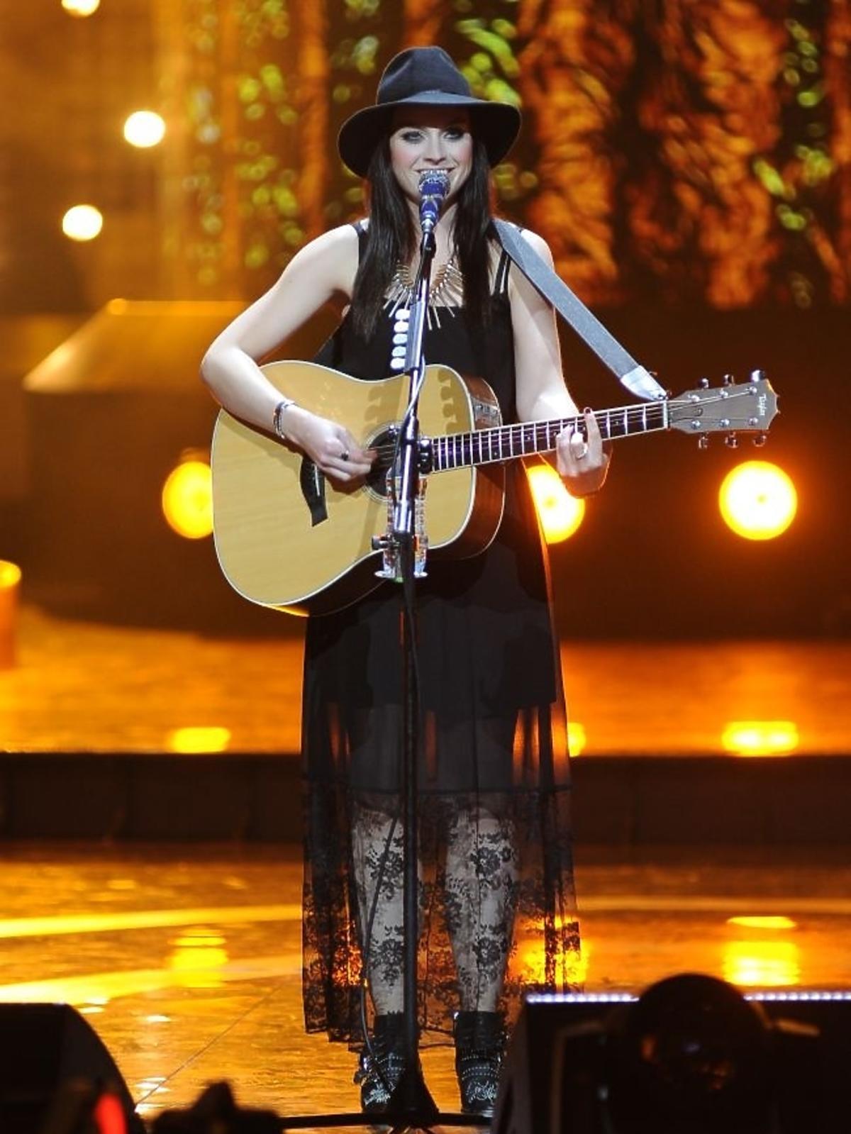 Amy Macdonald podczas pierwszego dnia Sopot Top of the Top Festival 2013