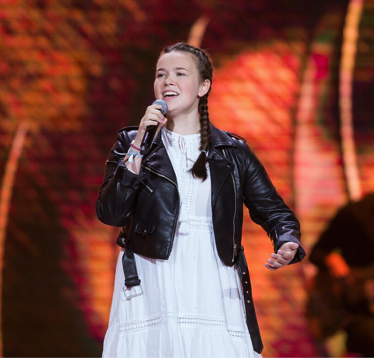 Anastazja Maciąg w The Voice Kids