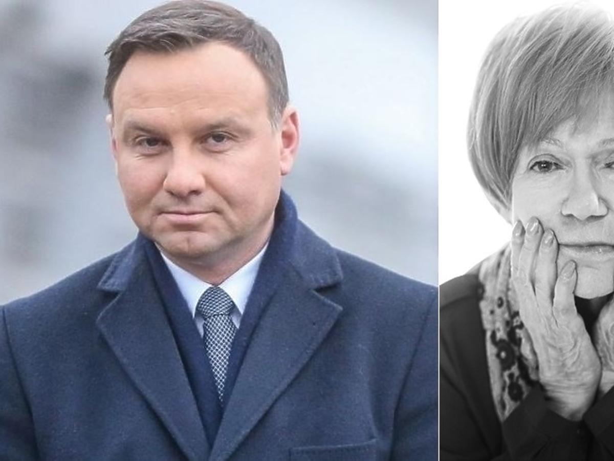 Andrzej Duda, Maria Czubaszek
