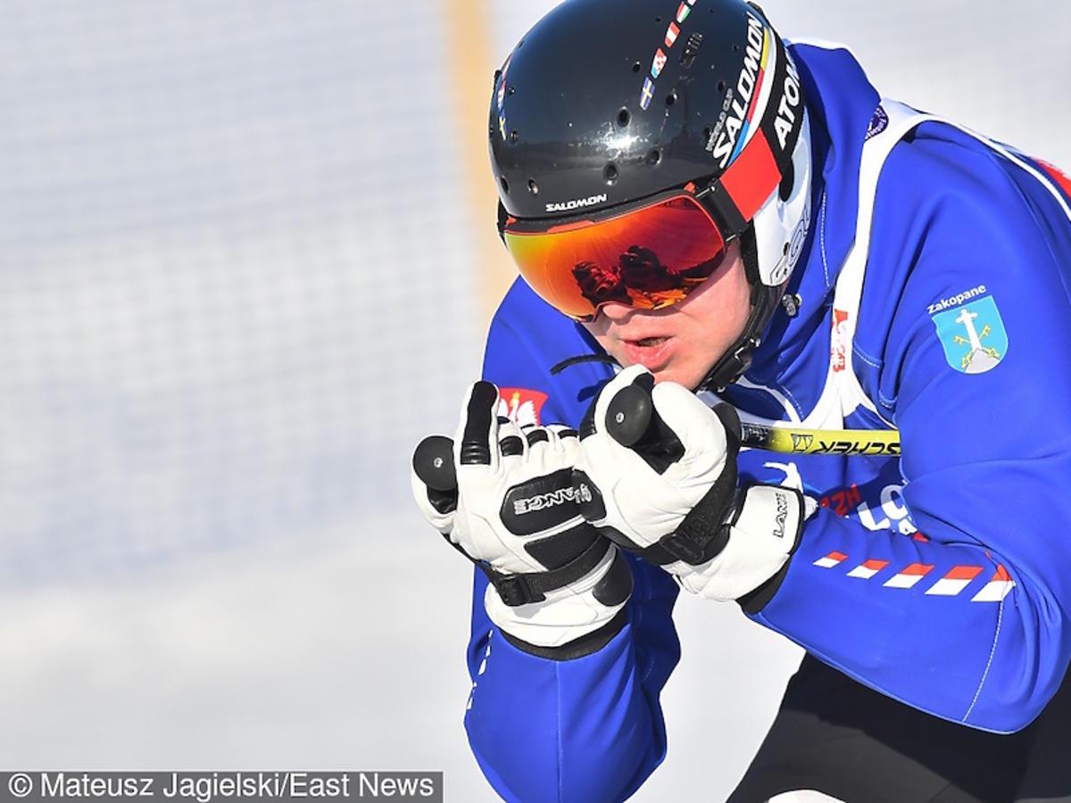 Andrzej Duda w stroju narciarskim w Zakopanem