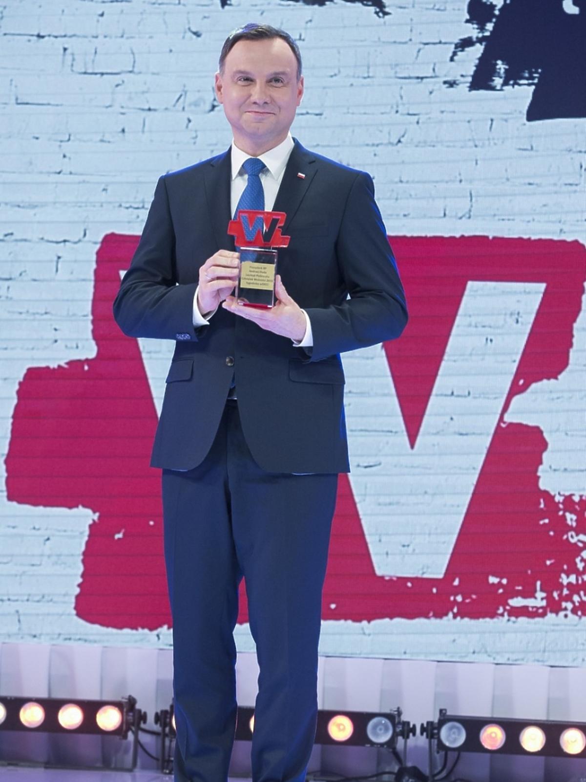 Andrzej Duda z nagrodą