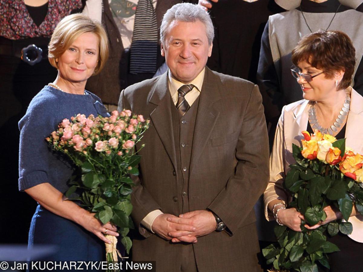 Andrzej Grabarczyk i Agnieszka Kotulanka