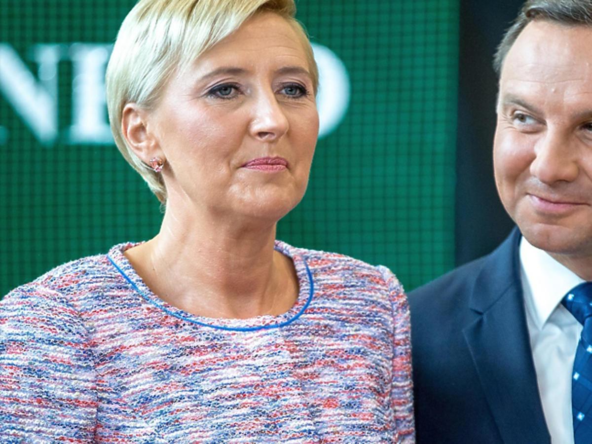 Andrzej i Agata Dudowie na inauguracji roku szkolnego