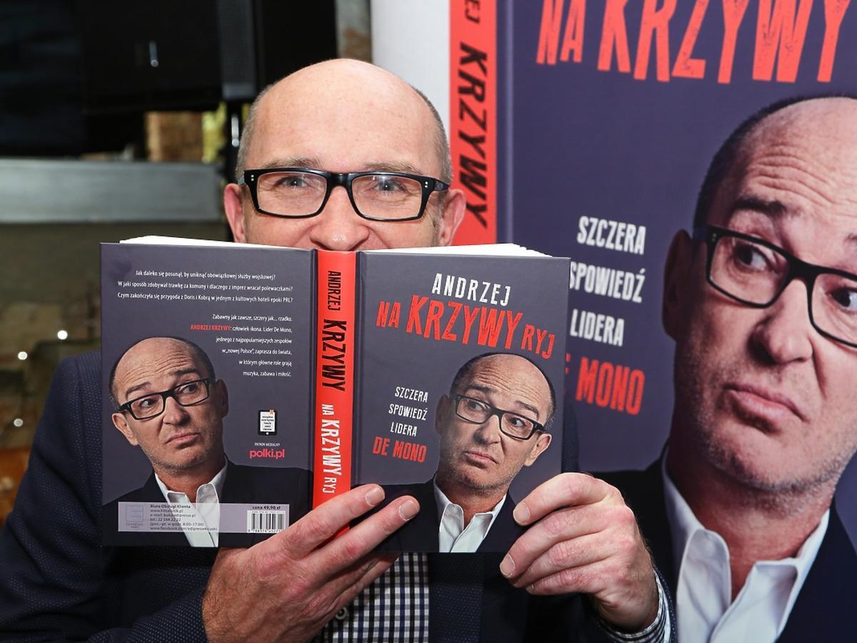 Andrzej Krzywy promocja książki