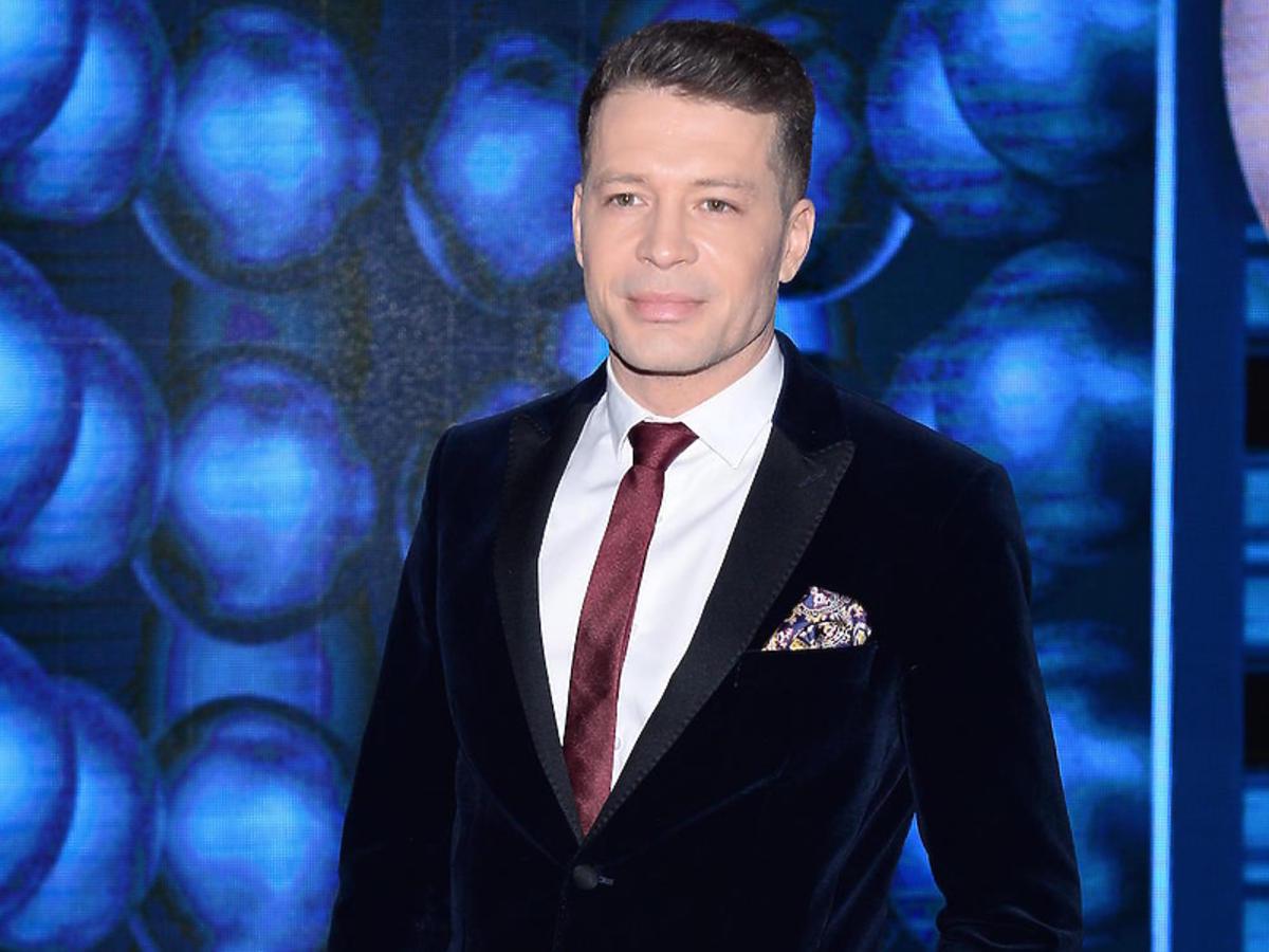 """Andrzej Młynarczyk na planie """"Twoja Twarz Brzmi Znajomo"""""""