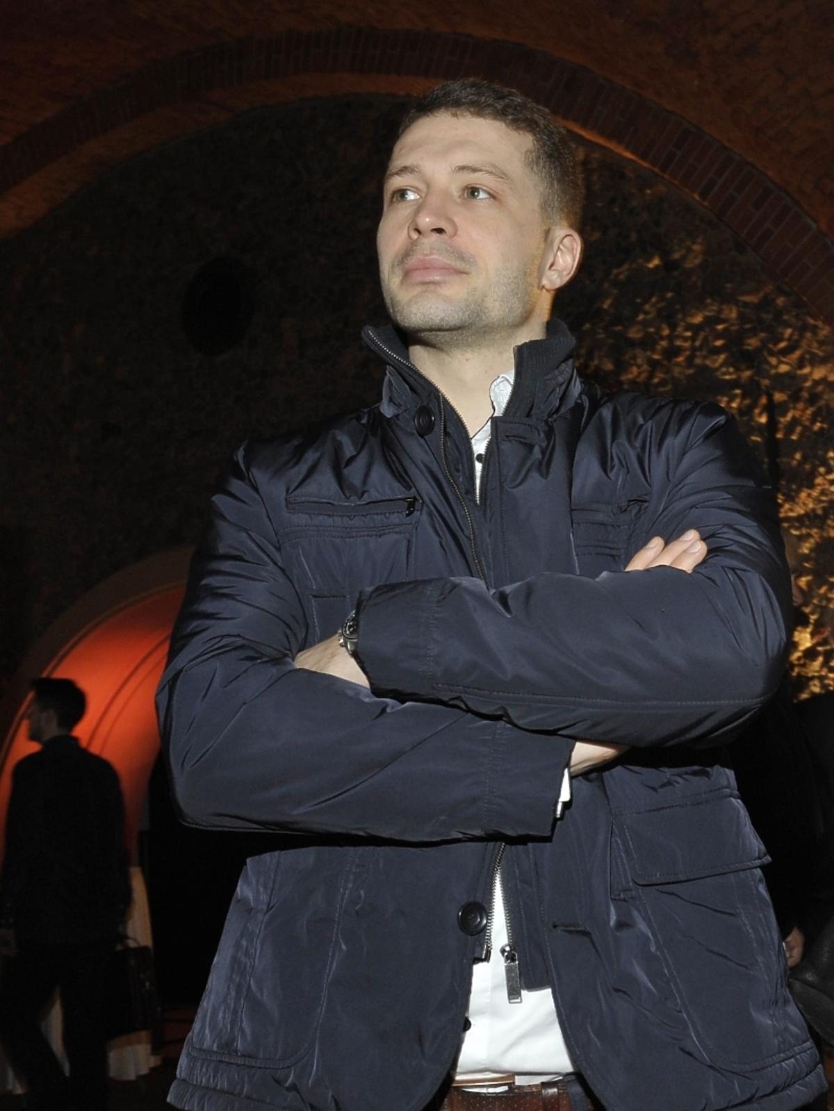 Andrzej Młynarczyk na wernisażu kalendarza