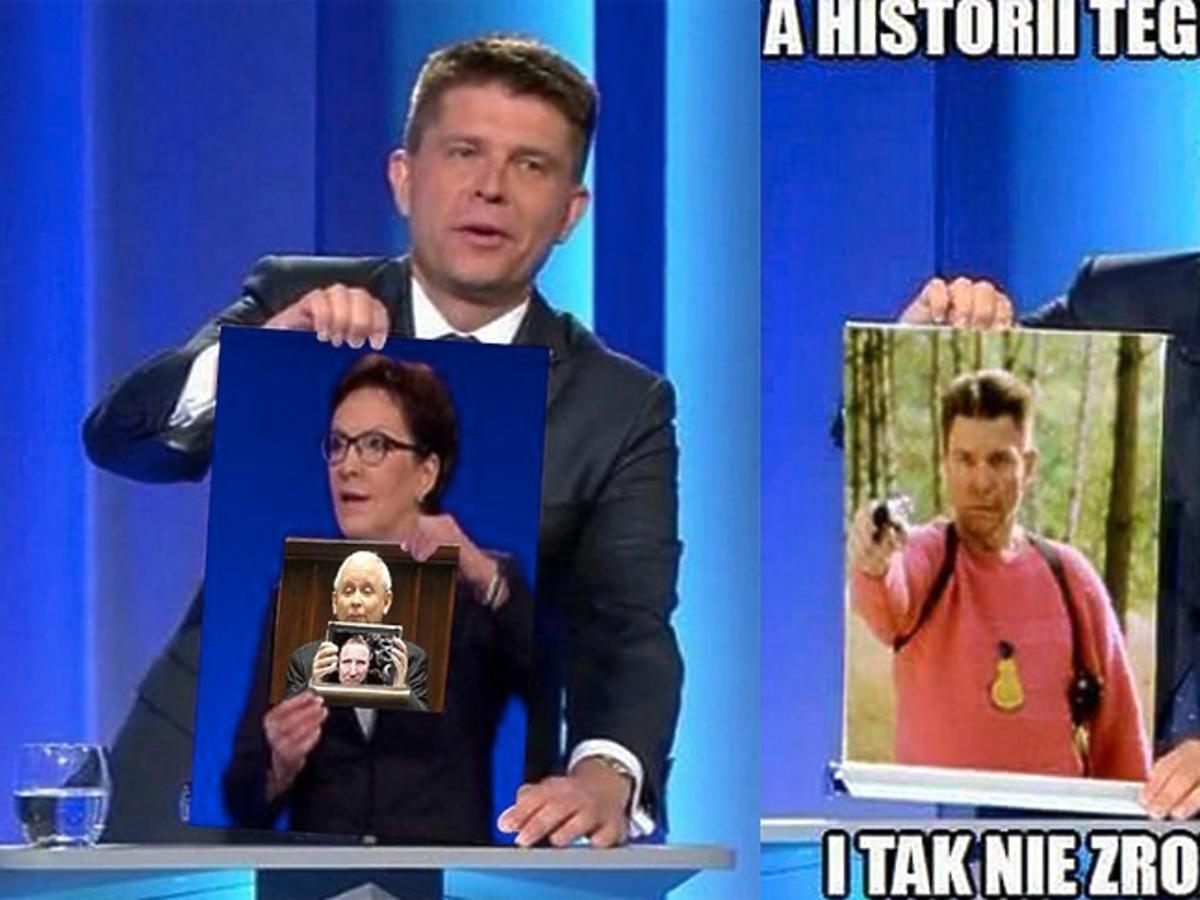 Andrzej Petru boahterem memów po debacie