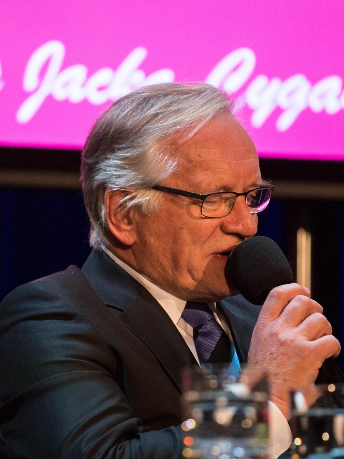 Andrzej Seweryn na benefisie Jacka Cygana