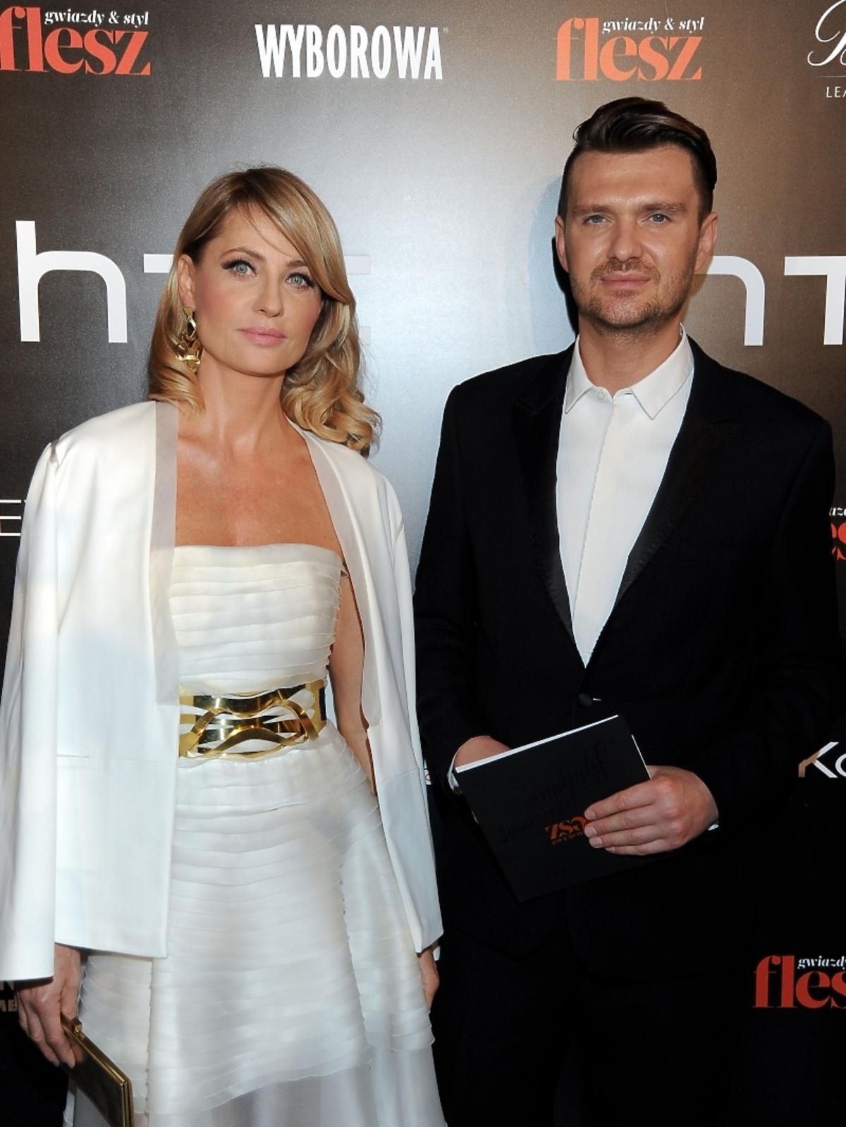 Aneta Kręglicka i Maciej Zień na imprezie Flesz Fashion Night