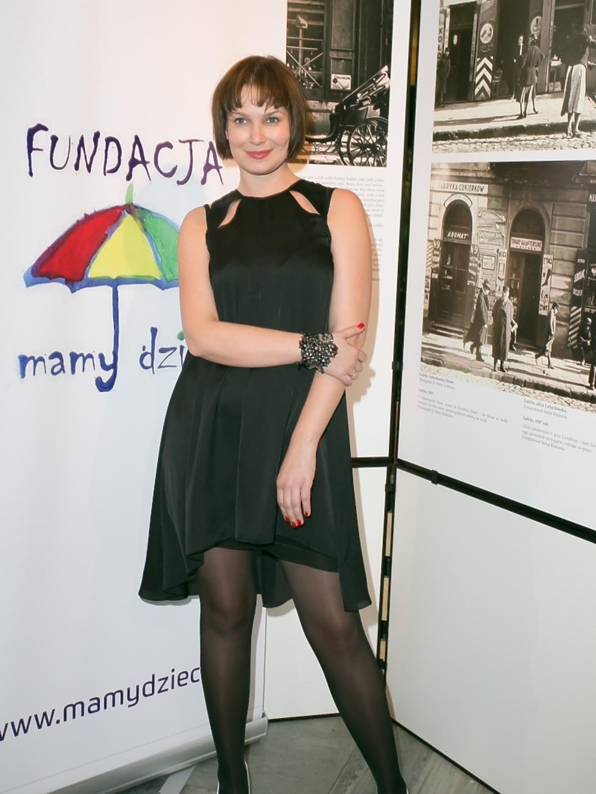 Aneta Todorczuk-Perchuć na koncercie fundacji