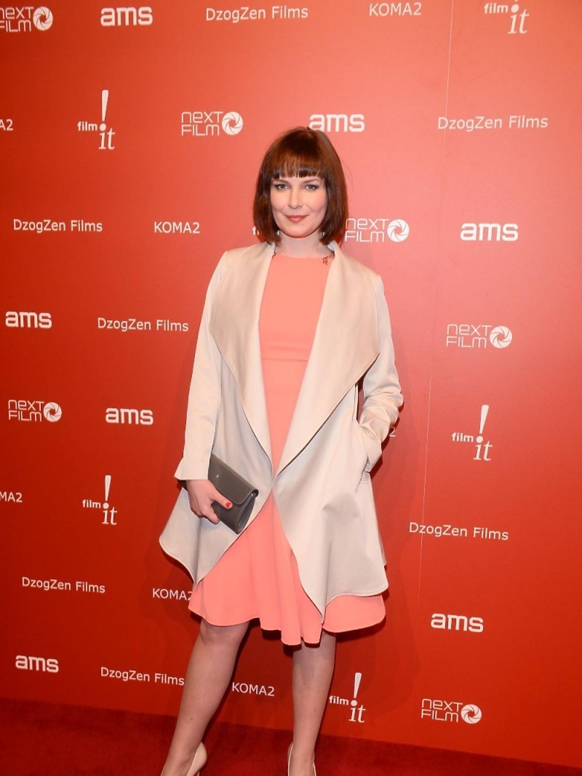 Aneta Todorczuk-Perchuć na premierze