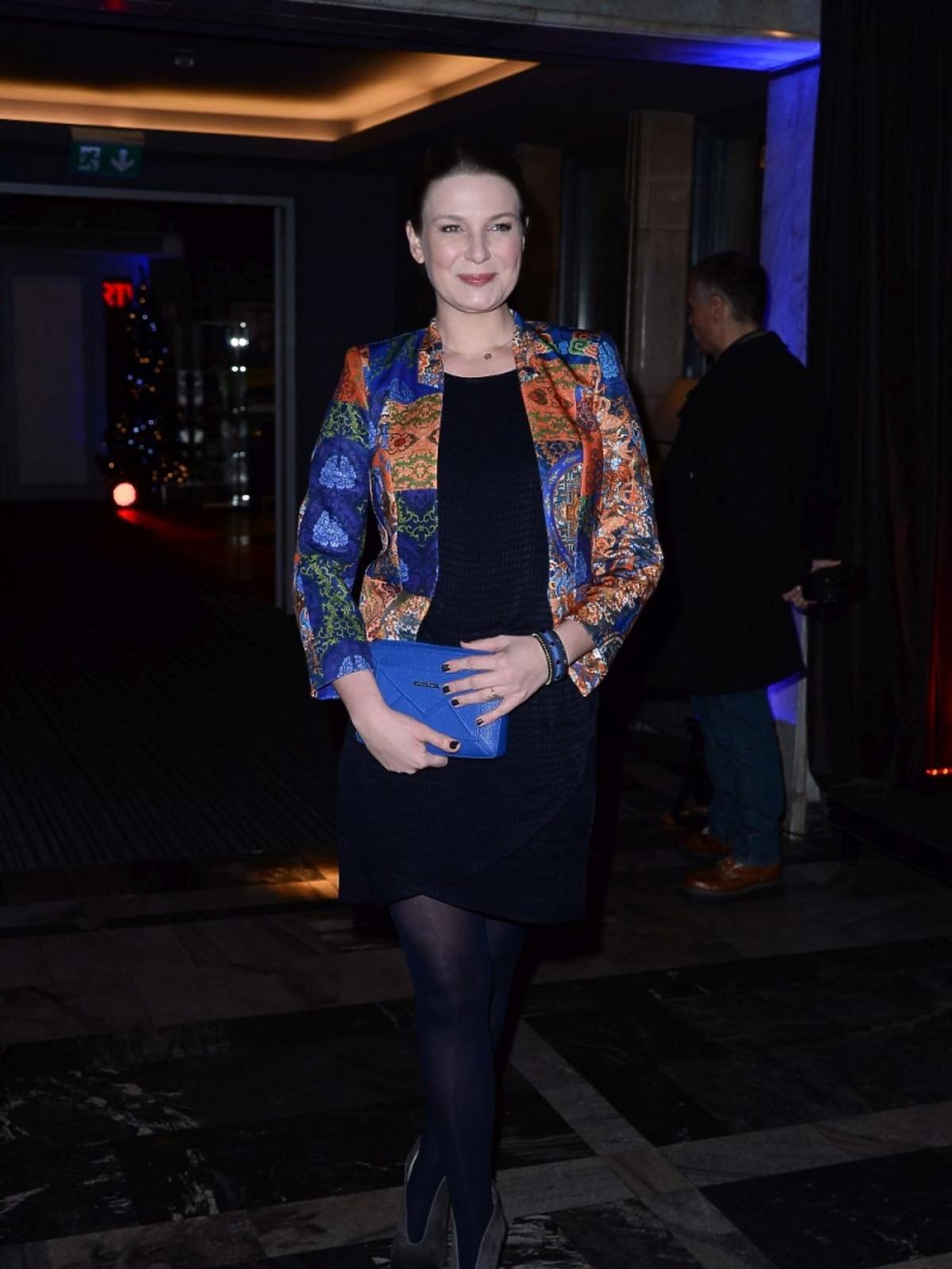 Aneta Todorczuk Perchuć na premierze w Och Teatrze