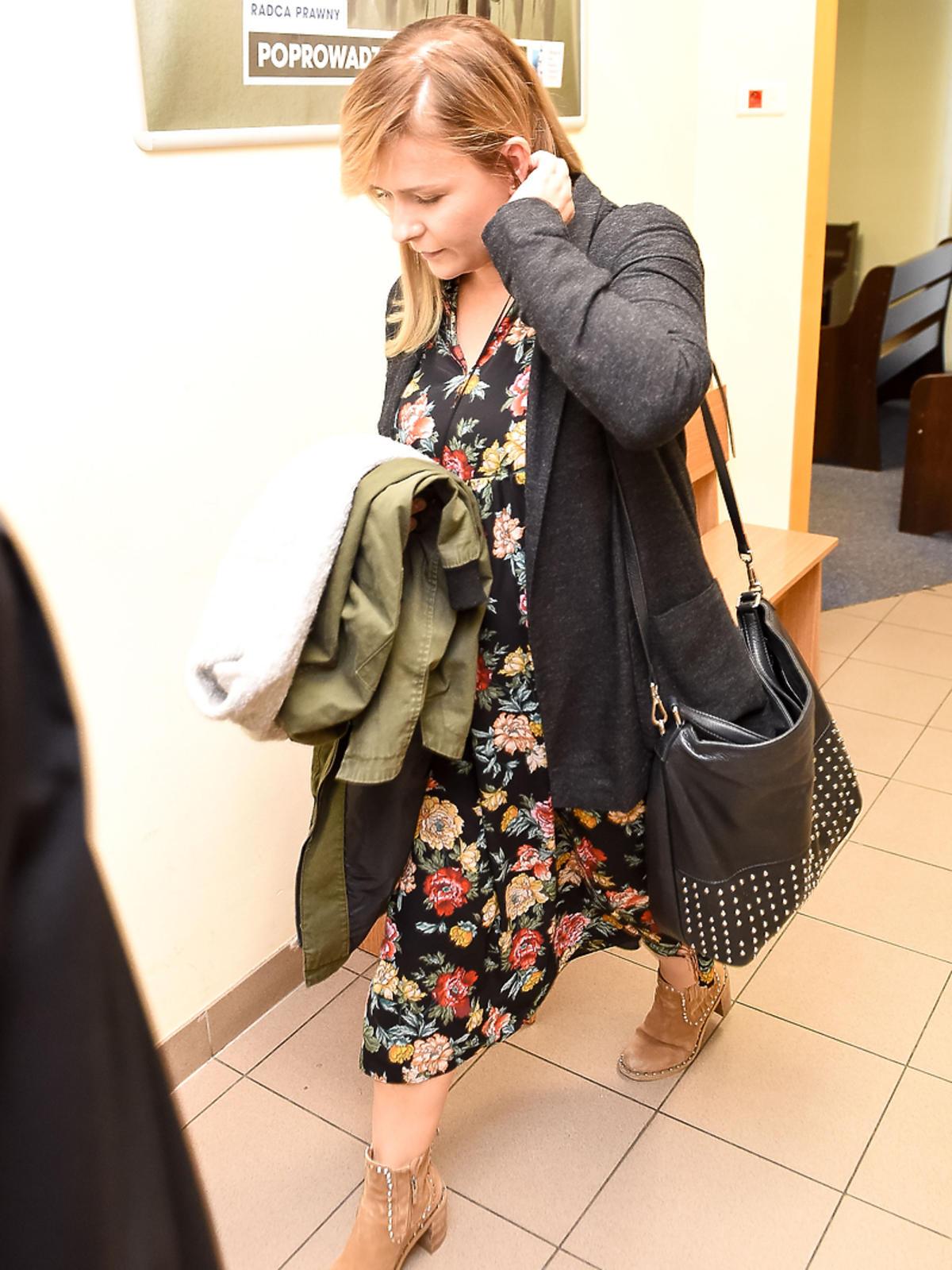 Aneta Zając i Mikołaj Krawczyk spotkali się w sądzie