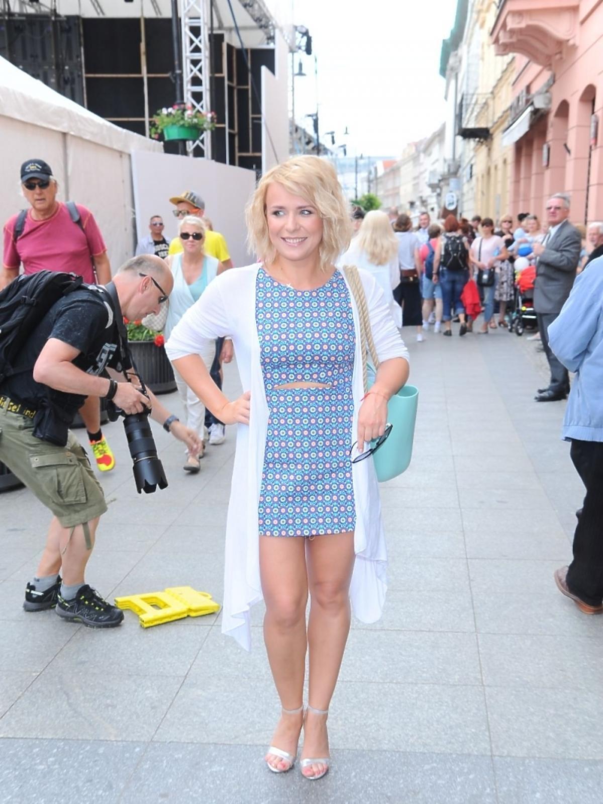 Aneta Zając na Street Fashion