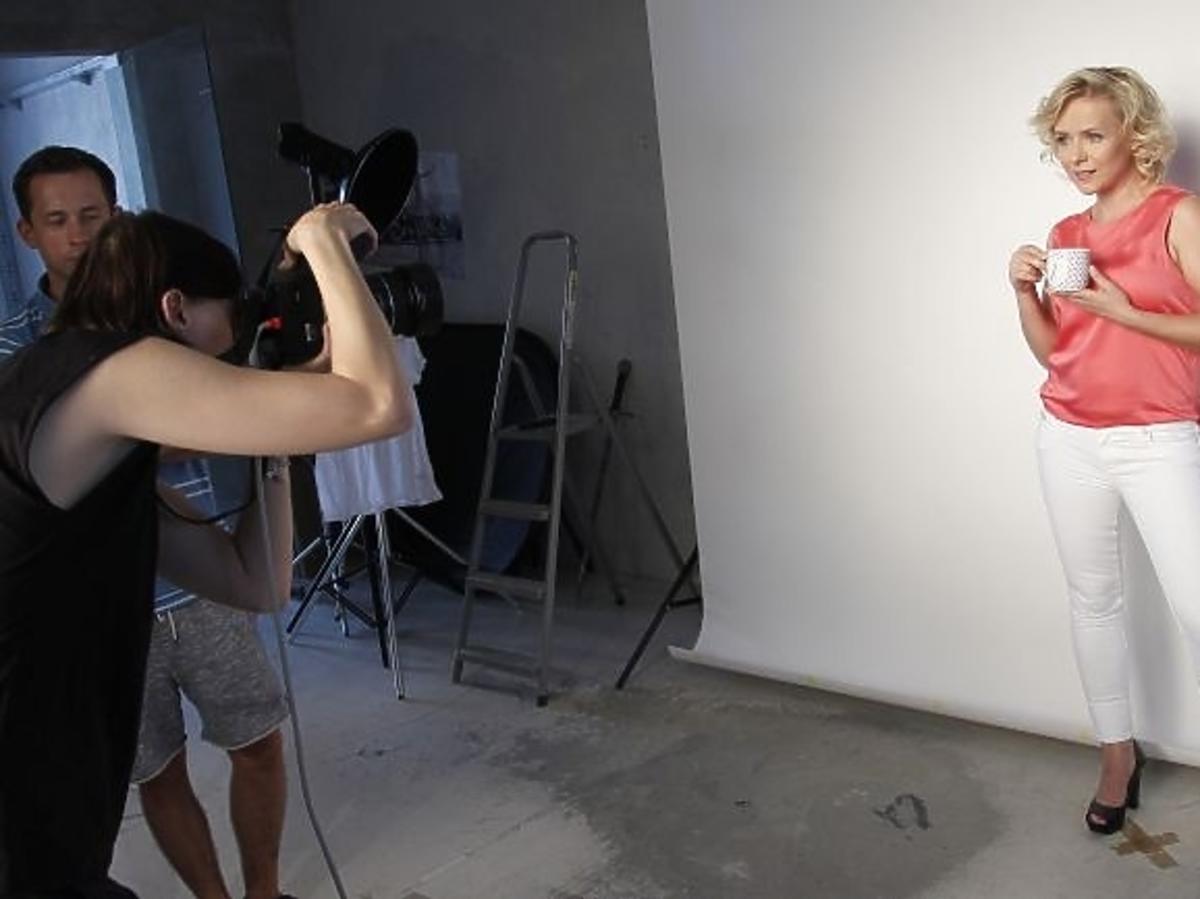 Aneta Zając za kulisami kampanii społecznej Avon