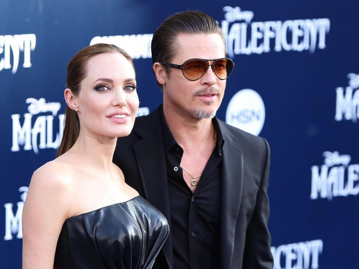 Angelina Jolie, Brad Pitt razem