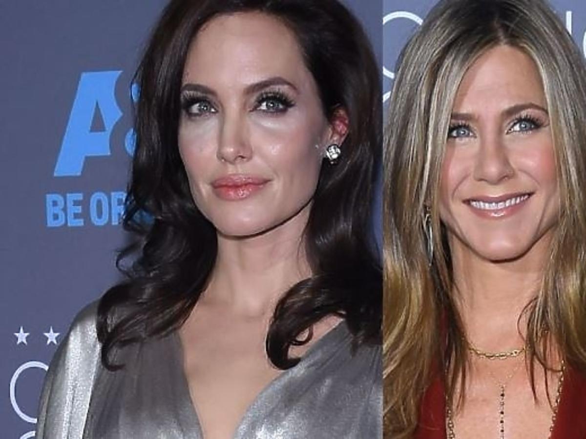 Angelina Jolie i Jennifer Aniston na tej samej imprezie