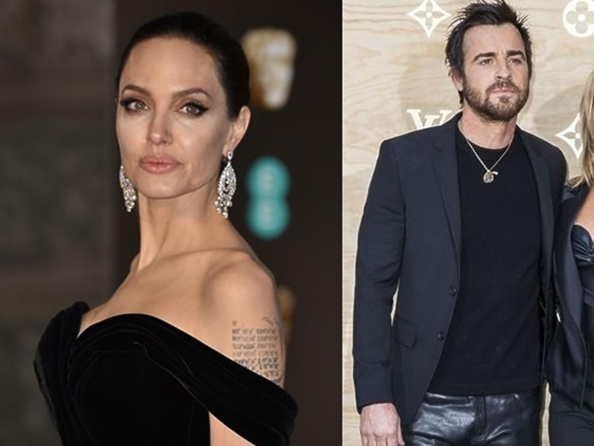 Angelina Jolie, Justin Theroux, Jennifer Aniston