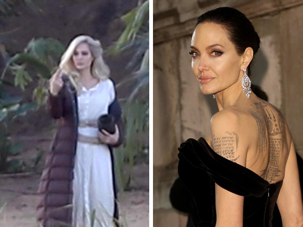 Angelina Jolie ma jasne włosy