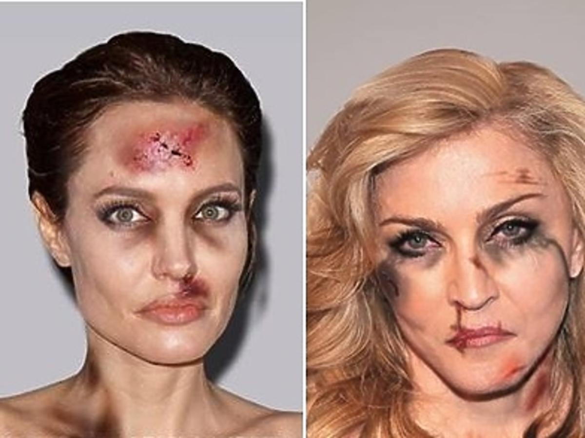 Angelina Jolie, Madonna, Kim Kardashian