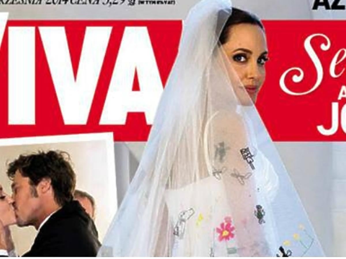 Angelina Jolie na okładce Vivy!