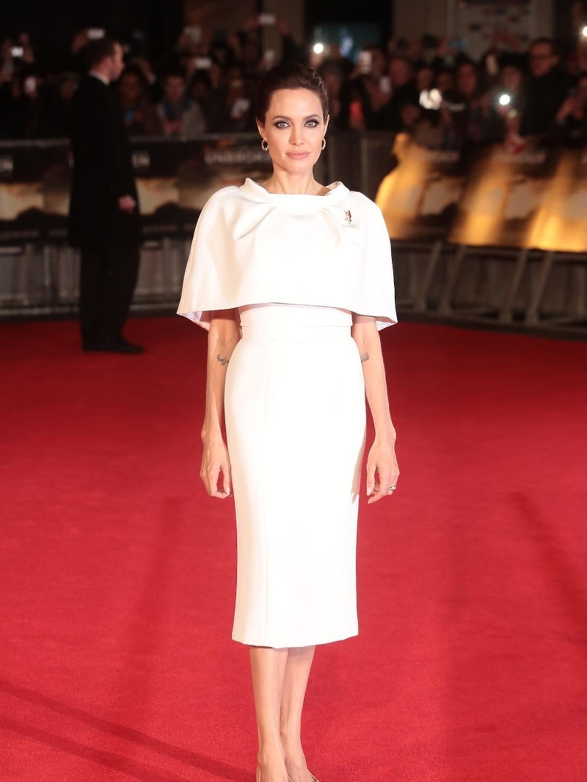 Angelina Jolie w sukience Ralph & Russo wiosna/lato 14