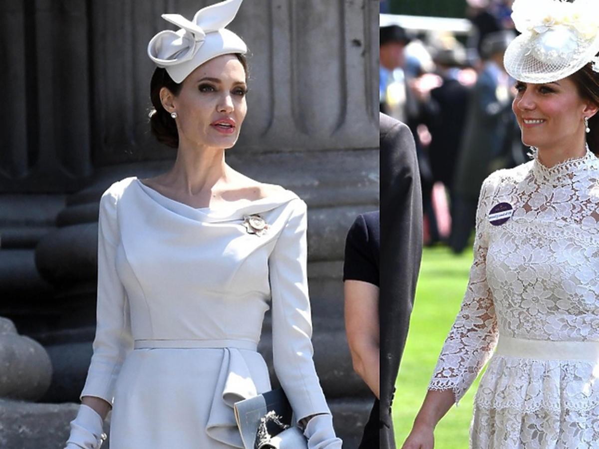 Angelina Jolie wypłakuje się księżnej Kate