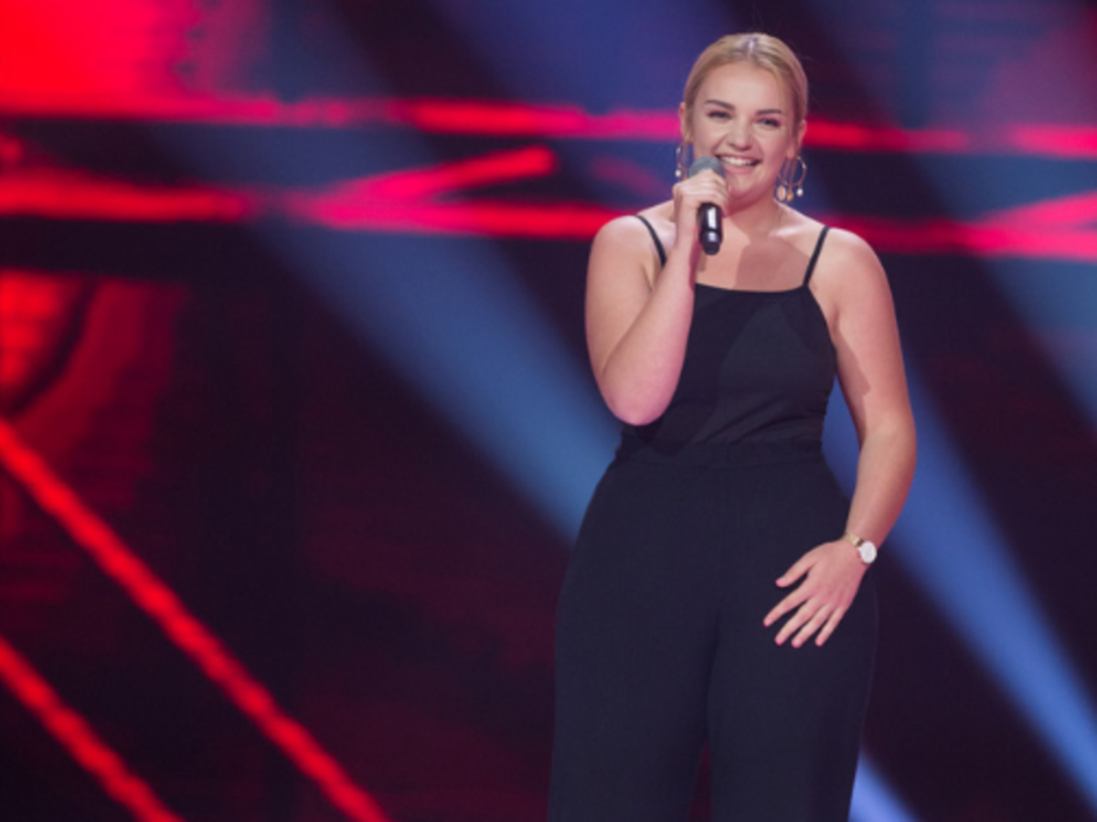 Ania Gąsienica-Byrcyn w The Voice of Poland