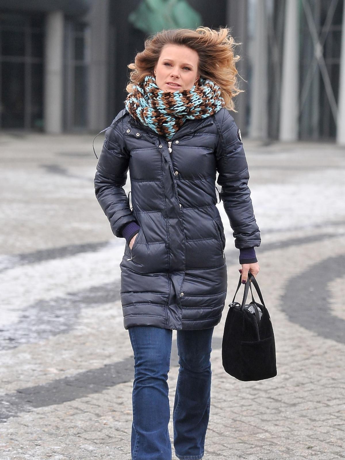 Ania Głogowska w dżinsach