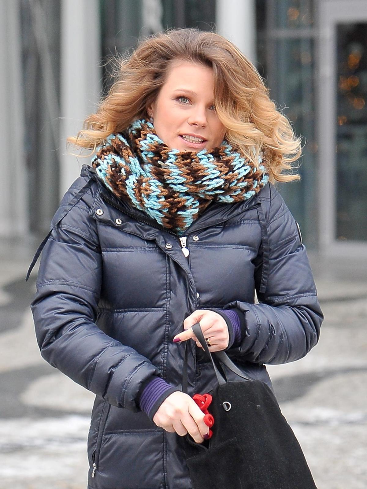 Ania Głogowska z torebką
