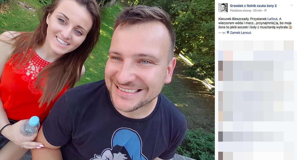 Ania i Grzegorz Bardowscy z Rolnik szuka żony będą mili dziecko