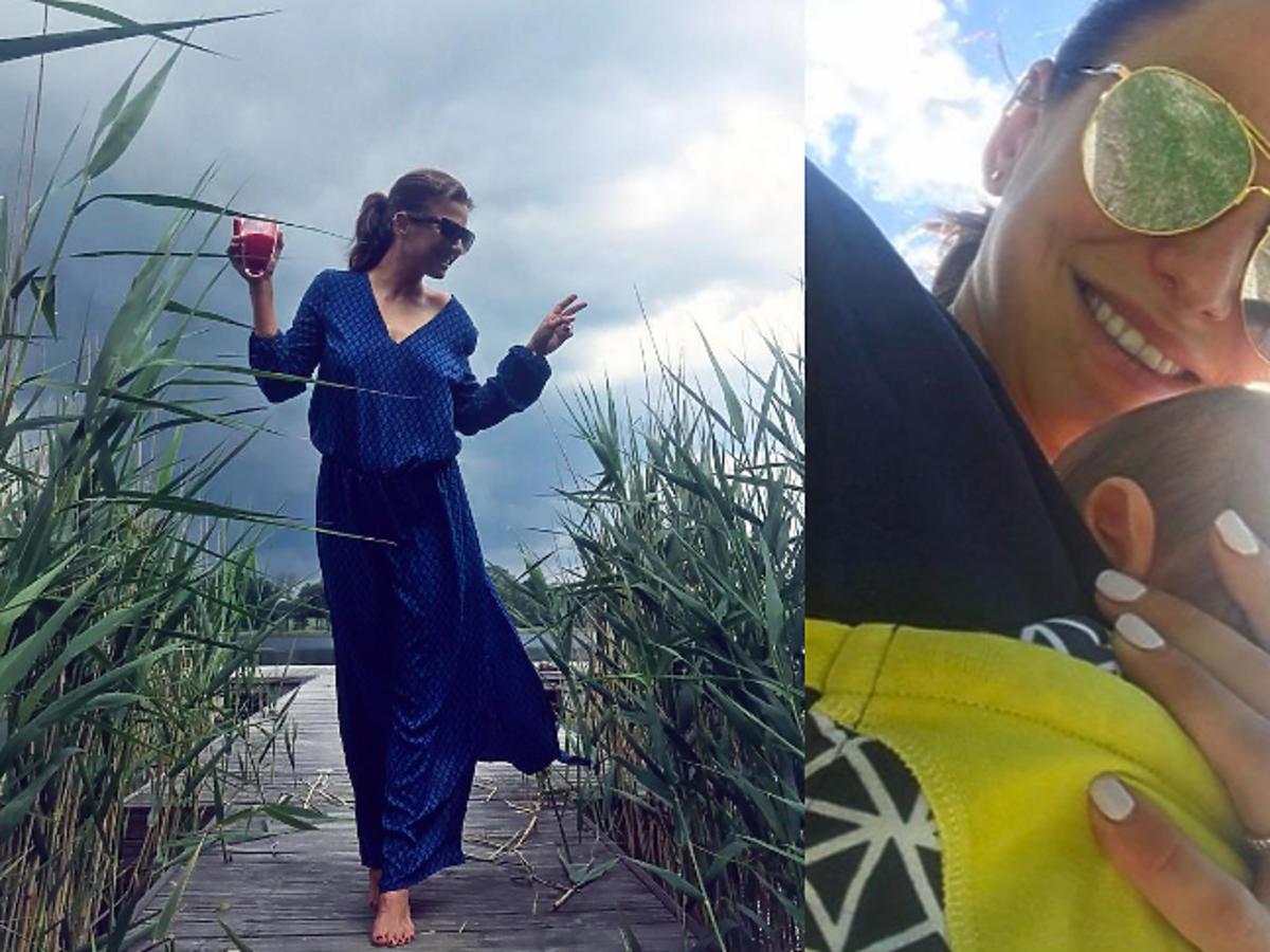 Ania Lewandowska nie poszła na kolację z przyjaciółkami