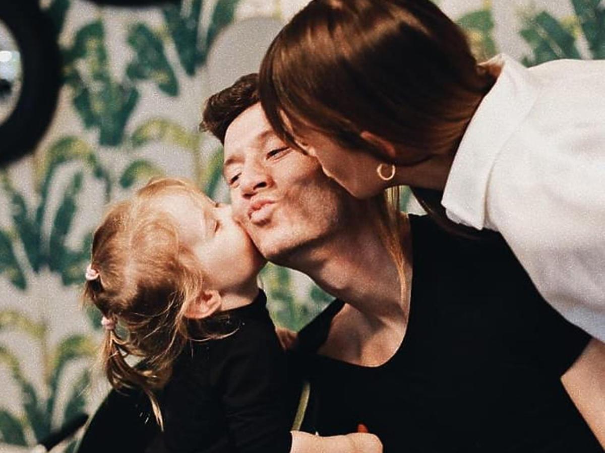 Ania Lewandowska pokazała twarz córki