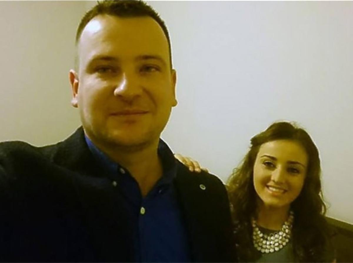 Ania w okularach i Grzegorz ogolony z Rolnik szuka żony